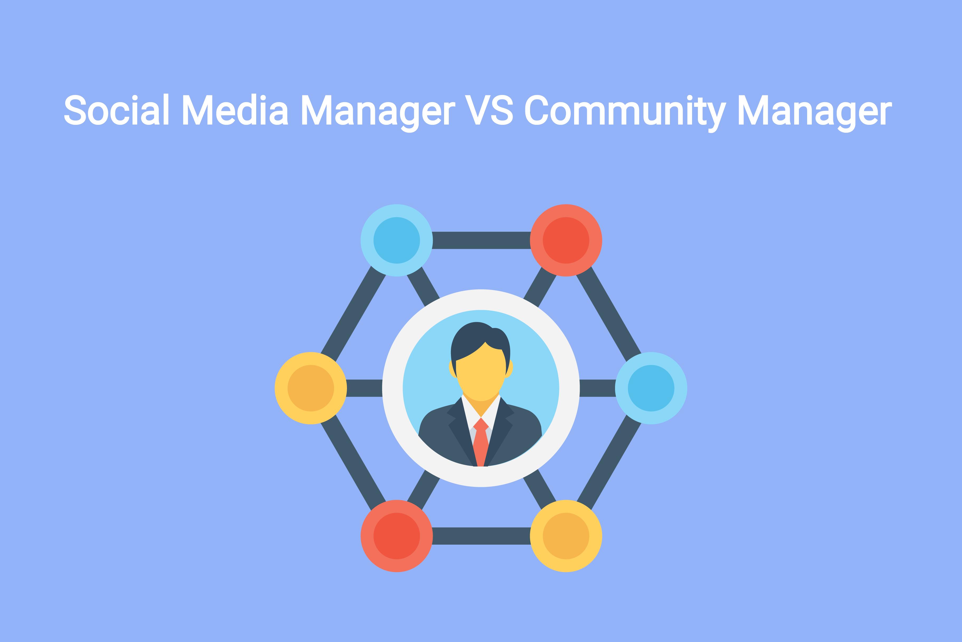 Social Media Manager vs Community Manager